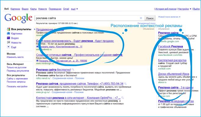 Реклама с google диплом на тему интернет-реклама